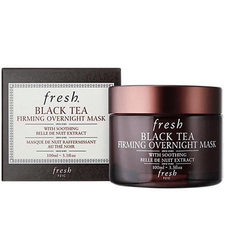 ร ว ว Fresh Black Tea Firming Overnight Mask 100ml